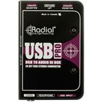 Radial Engineering USB-Pro Stereo USB Laptop Direct Box