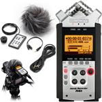 Zoom H4n Portable Recorder with Digital SLR Accessory Pack