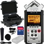 Zoom H4n Portable Recorder with Gator Waterproof Case