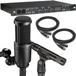 Focusrite Saffire Pro 40 FireWire Recording Interface with Audio-Technica AT2041SP Microphone Package