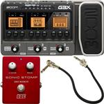 Zoom G3X Multi-Effects with Expression and BBE Sonic Stomp Maximizer Guitar FX Pedal Pack