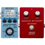 Zoom MS-70CDR MultiStomp with BBE Sonic Stomp Maximizer Guitar Pedal Pack