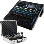 Allen & Heath QU-16 Digital Mixer with Audix FP Quad Drum Microphone Pack