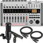 Zoom R24 Multi-Track Recorder with Audio-Technica AT2041SP Microphone Pack and Cables