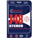 Radial J48 Stereo Active Direct Box