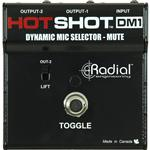 Radial Hotshot DM-1 Dynamic Microphone Selector and Mute