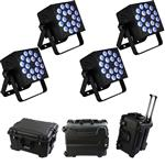 4x Blizzard RokBox EXA with Waterproof Rolling Case