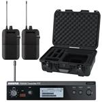 Shure P3T-J13 with 2x P3R-J13 and Waterproof Case