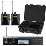 Shure P3T-J13 with 2x P3RA-J13 and Waterproof Case