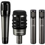 Audio-Technica ATM-DRUM4 Drum Microphone Pack for Drum Applications