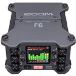 Zoom F6 Professional Field Recorder with 32-Bit Float Recording