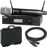 Shure GLX-D Advanced Handheld SM86 Wireless Microphone System with Waterproof Case