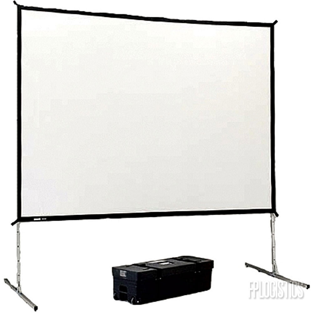 Image result for Dalite 6 x 8′ Fast-Fold Deluxe Projection Screen