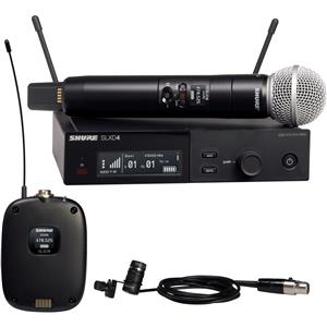 Shure SLX-D Wireless Microphone System