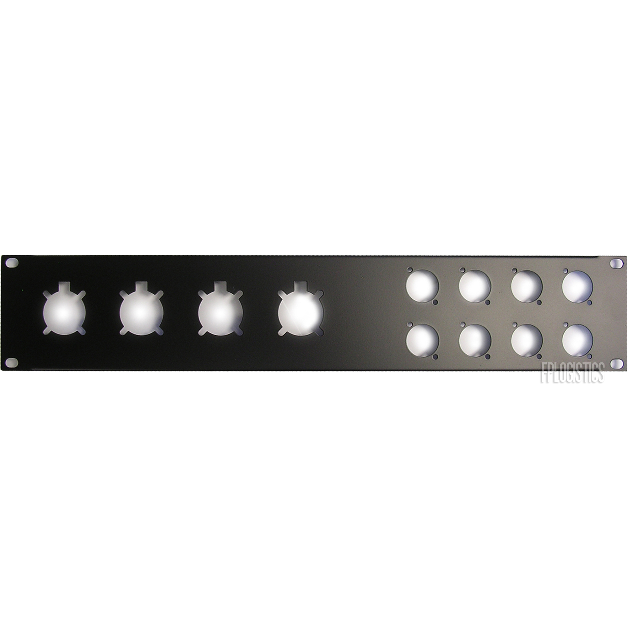 Penn-Elcom R1273//2UK Rack Panel For EP//XLR